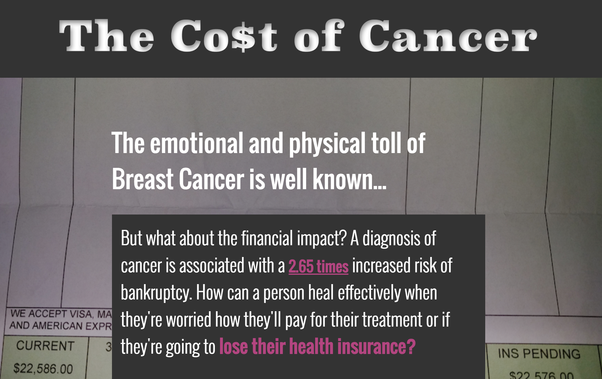 Costs of Cancer thumbnail